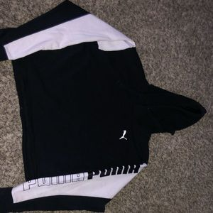 Puma cropped hoodie